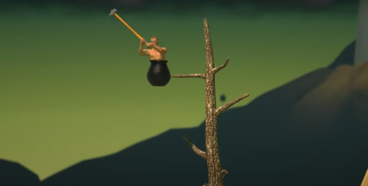 Getting Over It with Bennett Foddy MOD Version